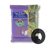 alfalfa king 0.4536 kg oat wheat and barley hay for small animals