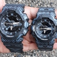 Jam tangan couple murah Casio G Shock vS Baby G Ga110 black