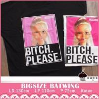 PAPXXXL Barbie Moschino Batwing Baju Big Size XXL Cupcake Atasan