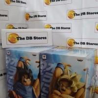DB Super Genkidama Special set of 2 Son Goku Normal Super Saiyan Ori