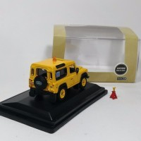Jual Land Rover Defender 90 RAF Safety yellow Oxford skala 1 76 Murah