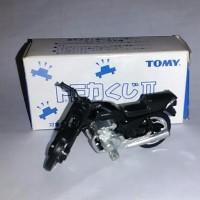 Tomica Honda CB 750 hitam dari kuji 2