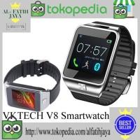 VKTECH V8 Smartwatch - Hitam Smart watch