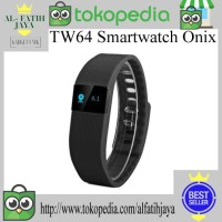 TW64 Smartwatch Onix - Black Smart Watch Jam kesehatan