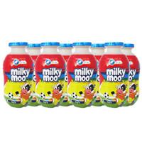 Milko Milky Moo Dark Chocolate Minuman Susu [120 Ml/8 Botol]