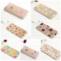 case casing silicon iphone hp 6 6s 7 + plus cute unik lucu butterfly