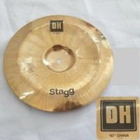 "Stagg Cymbal DH - 10"" Dual Hammered Brilliant China"