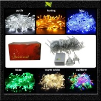 Jual lampu natal led string twinkle light hias tumblr Murah