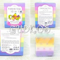 Fruitamin Soap 10in1 by Wink WHite Original Thailand