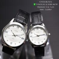 Jam tangan couple DW kulit daniel wellington pasangan guess fossil qnq