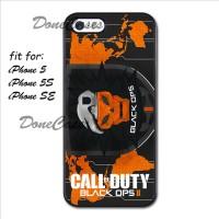 Casing iPhone 5 5S SE Call Of Duty Black OPS II Hard Case Custom
