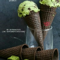 Premix Green Tea Ice Cream - es krim matcha