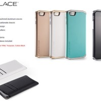 Element Case Solace IPhone 5 Atau 5S - Black And Gold