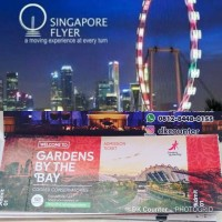 Tiket Singapore Flyer & Garden By The Bay (Adult)