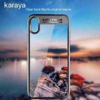 silicone transparant iphone x case premium
