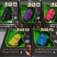 Jual Finger Mouse Wireless 2.4GHZ Murah