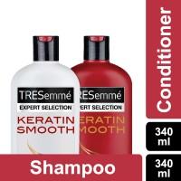 harga Tresemme Shampoo Keratin Smooth 340ml + Conditioner 340ml Tokopedia.com