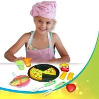 Ocean Toy Pizza Set Mainan Anak OCT2203 - Multicolor
