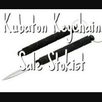 pisau kubotan kubaton gantungan kunci secret knife