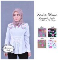 Baju Wanita Atasan Pakaian Sevira Blouse Tunic Blouse Muslim Hijab
