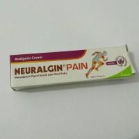Neuralgin pain 30 gram krim obat oles nyeri otot sendi