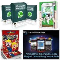 Paket Marketing Whatsapp, Instagram, BBM, Line, Twitter, dll
