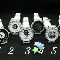 CUCI GUDANG Jam tangan EXO putih (( MURAH ))
