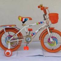 UNIK Sepeda Fixie Anak 16 dengan Boncengan LSX162