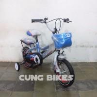 PROMOSI Sepeda BMX Evergreen Type 1240 C Untuk Anak Anak Warna Biru P