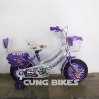 PROMOSI Sepeda Mini Exotic Type 9808 ukuran 12 untuk anak anak warna