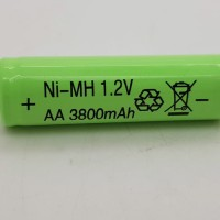 RECHARGEABLE BATTERY AA NI-MH 3800mAh 1.2V / batterai charger
