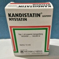 Kandistatin Drop seperti mycostatin nystatin sariawan anak bayi