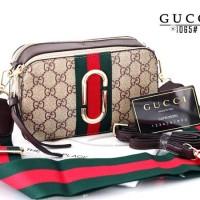 GUCCI/ new arrival/ merk terlaris/ tas import/ harga termurah