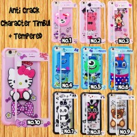 Silicon Casing Softcase Samsung J3 Pro 2017  anticrack 360 3D tempered