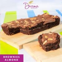 Brownies Almond | cokelat | kue | bolu | cake artis | chocolate