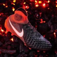 Sepatu Bola Nike Magista Obra II FG Black White Hyper