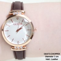 GROSIR JAM TANGAN WANITA GUESS PARIS MONOL SUPPLIER CASUAL ROLEX MURAH