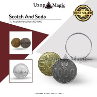 Scotch and soda (Alat sulap, sulap koin, trick coin)