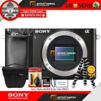 Kamera Sony Alpha A6000 Body Only PAKET