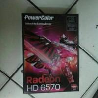 VGA Card Power Colour Ati Radeon 6570, 1 GB DDR3 128 bit PCI E