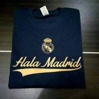 Kaos Tshirt Baju Combed 30S Distro Hala Madrid Jersey Futsal Grade Ori