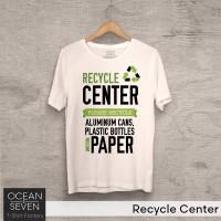 Kaos Recycle Center - T-Shirt Pecinta Alam Bumi
