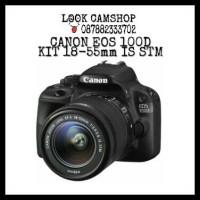 KAMERA DSLR CANON EOS 100D 100 D KIT 18-55mm IS STM