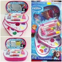 Mainan Anak Perempuan Make Up Set Frozen 3 susun