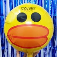 Balon Foil Duck Face/ Balon Bebek/ Balon Duck/ Balon Animal/ Hewan