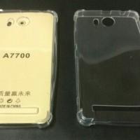 Anti Crack Lenovo A7700 Plus 5.5 inchi Jelly Case Anti Shock / Bentur