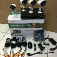 Paket lengkap CCTV full set 4 camera kid AHD original