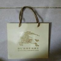 Paperbag - Paper Bag - Tas Karton Burberry Kecil