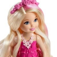 Barbie Endless Hair Kingdom Chelsea Doll - Pink