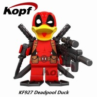 Jual Deadpool Duck KF927 Duckpool Marvel Minifigure Brick Murah